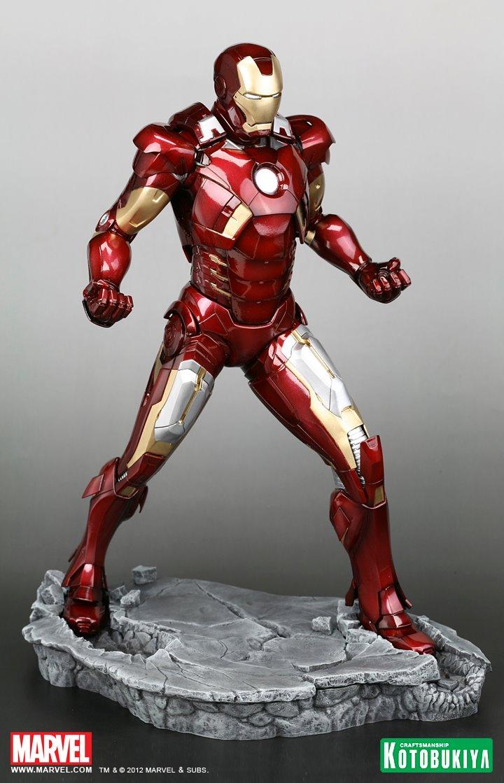 Figurine Captain America: Civil War  Iron Man Mark 46⎪Kotobukiya France