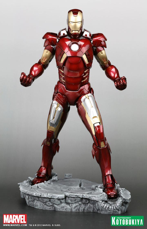 [Jeu concours JDG] Gagnez une figurine IRON MAN MARK VII