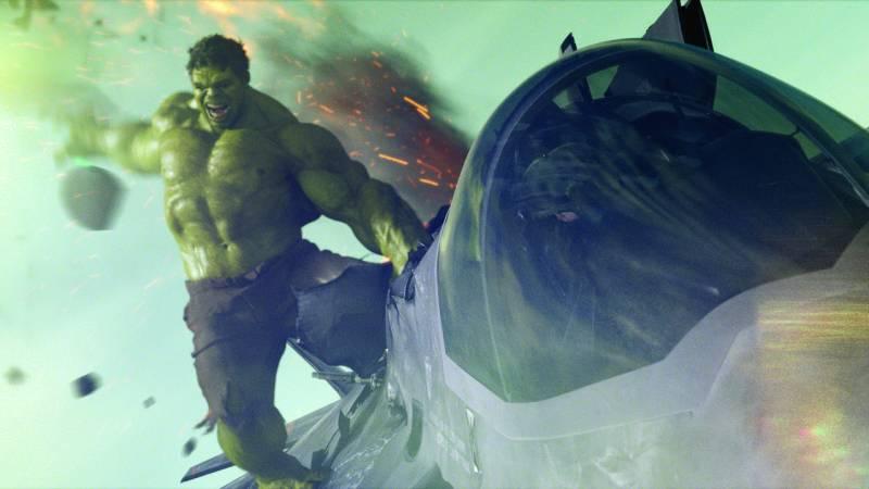 Les incontournable films de SF Hulk-est-trop-badass