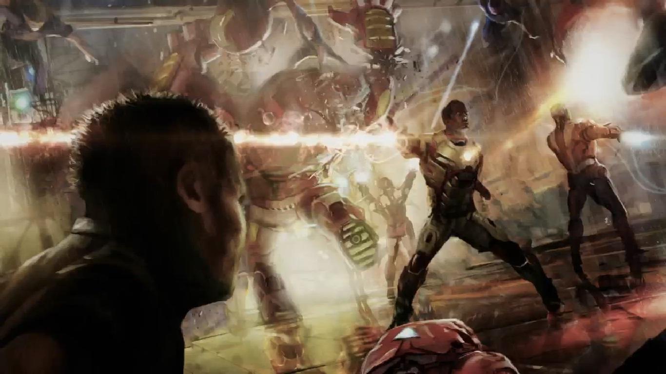 Iron Man 3 - Un mystérieux concept art