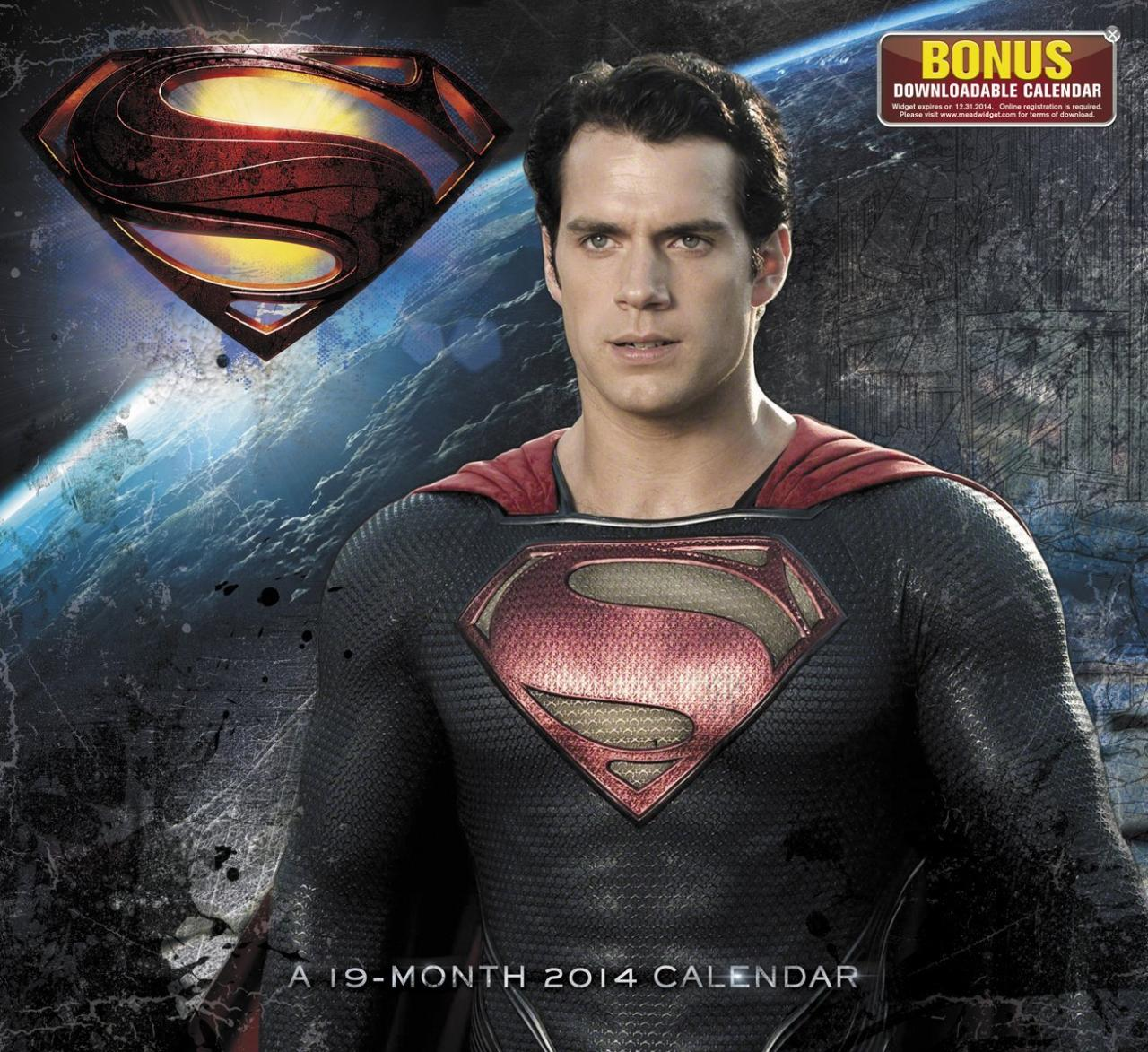 Man of Steel Calendar_01