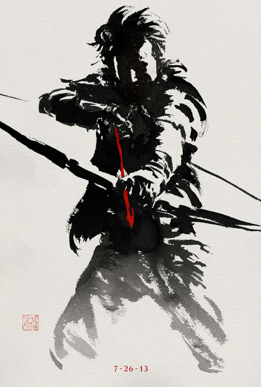 harada-poster-wolverine-movie
