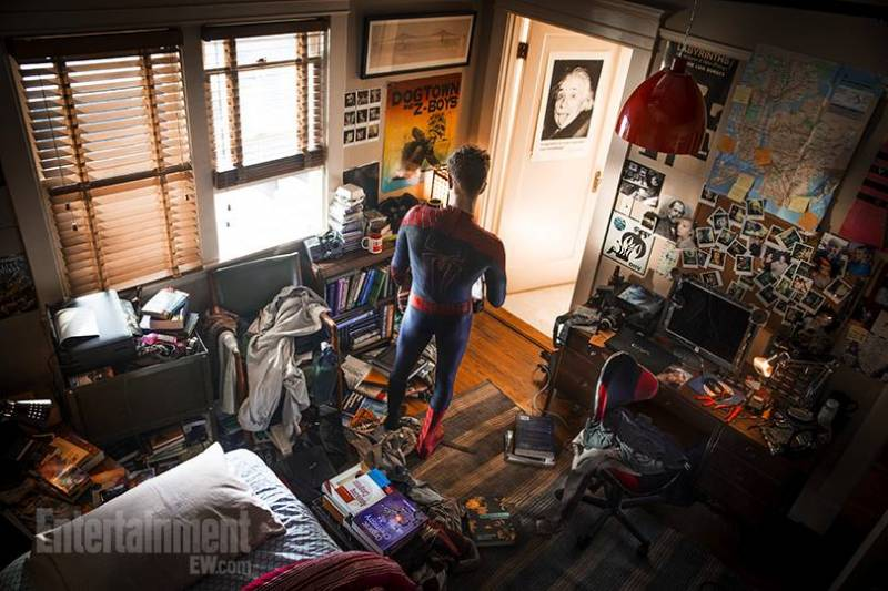 amazing-spider-man-2-chambre-peter