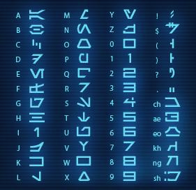 aurebesh-font