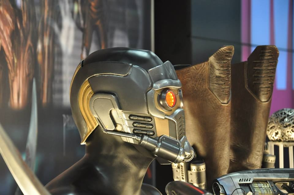 gardiens-galaxie-comic-con-stand-marvel-starlord-casque