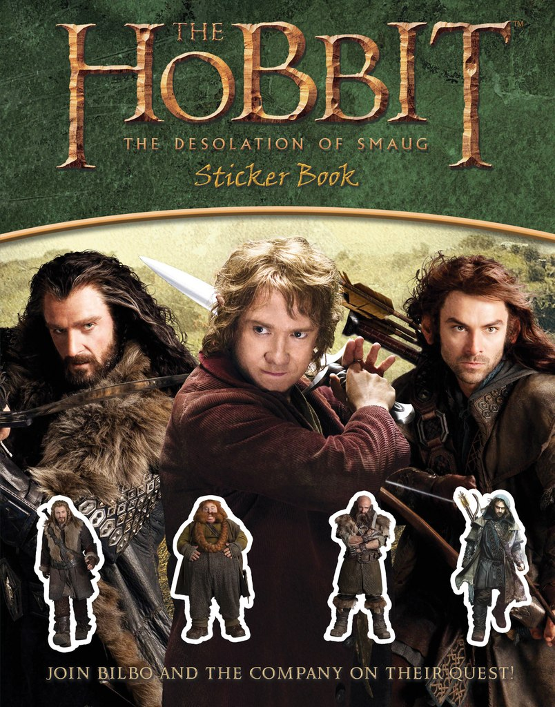 hobbit-desolation-smaug-sticker-book
