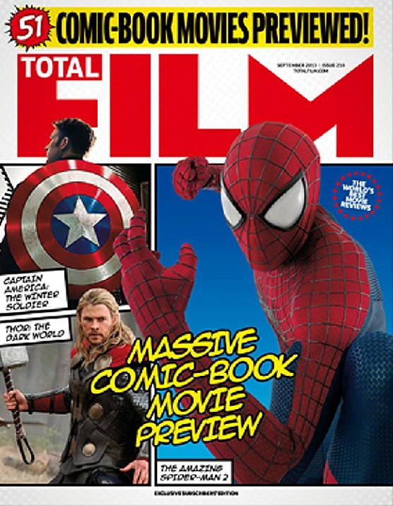 total-film-spiderman-cover