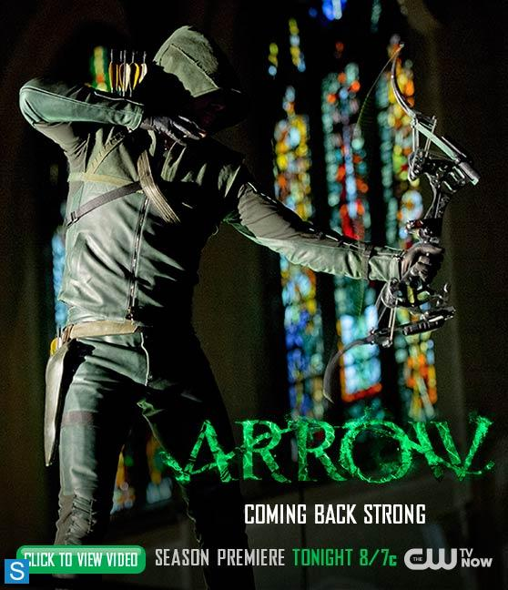 Arrow - Season 2 - Promotional Poster - Coming on Strong_FULL