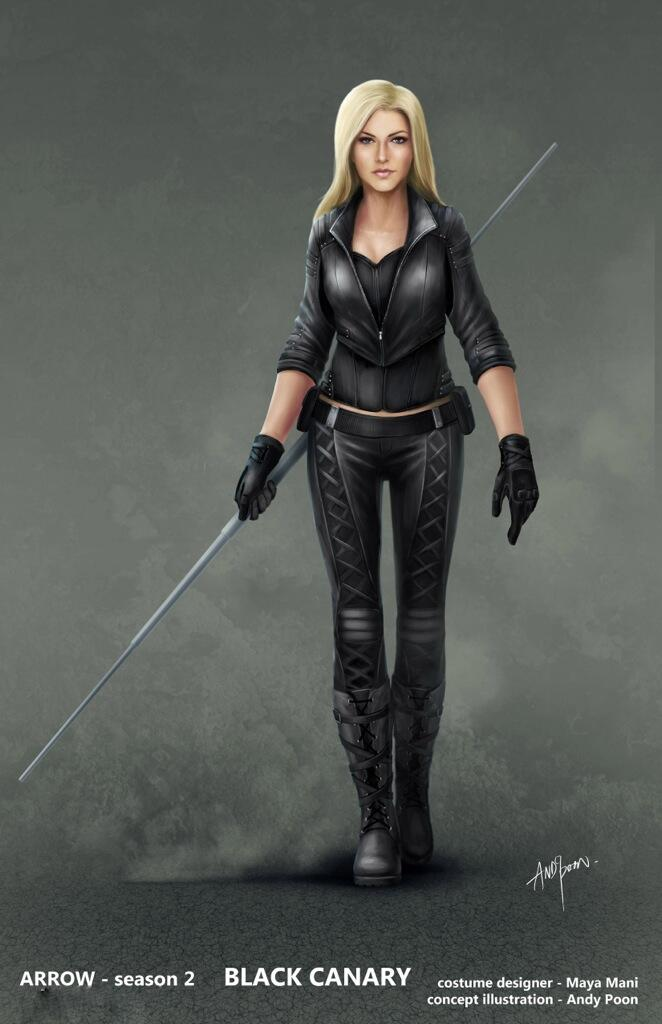 arrow-saison-2-black-canary-costume-concept