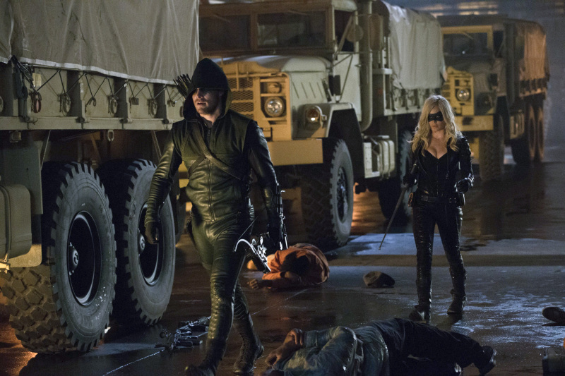 nouvelle black canary arrow
