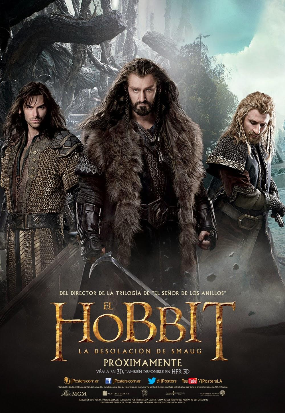 hobbit-desolation-de-smaug-poster-richard-armitage