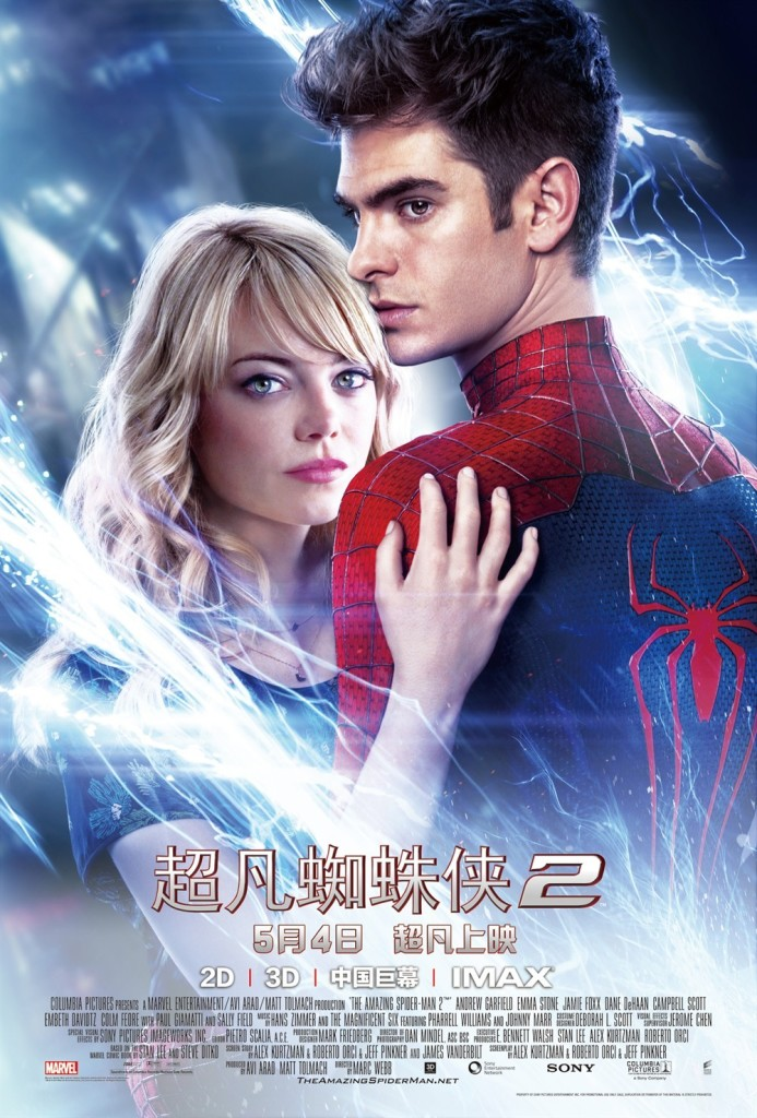 the-amazing-spider-man2-poster-chinois
