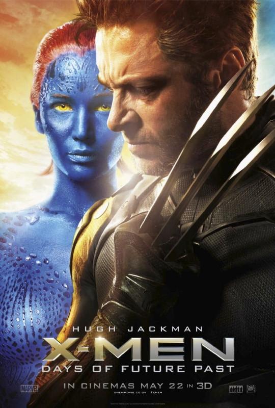 x-men-days-of-future-past-hugh-jackman-mystique-poster