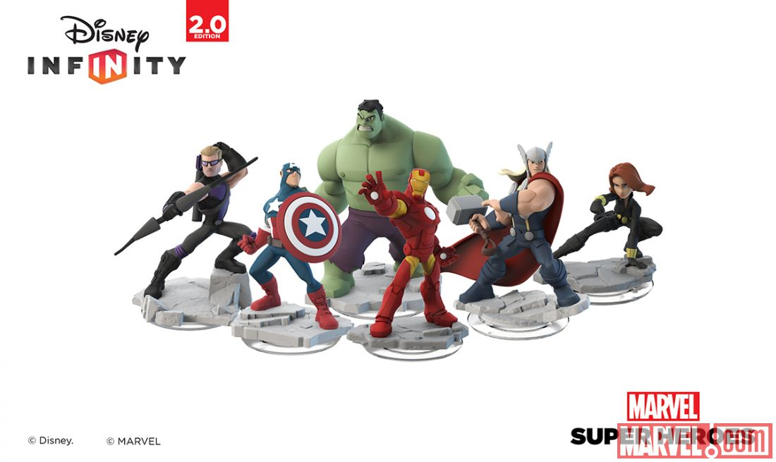 figurines marvel disney infinity