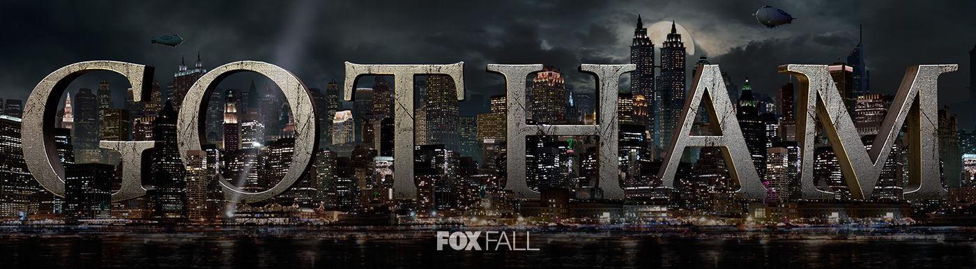 Les séries Gotham-logo-serie-tvfox