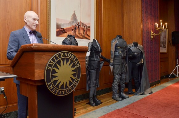 Washington DC: Patrick Stewart Presents Items and Costumes from20th Century Fox's X-Men to Smithsonian.