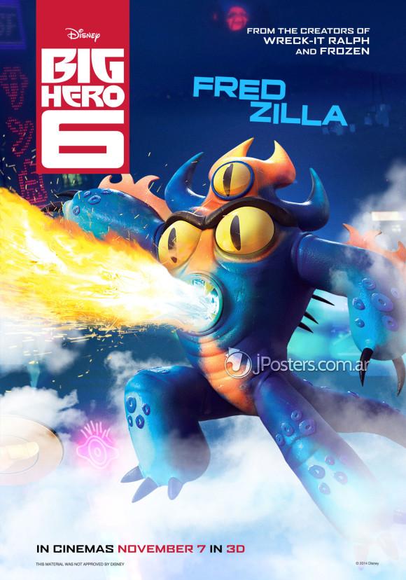 les-nouveaux-heros-disney-marvel-poster-fredzilla