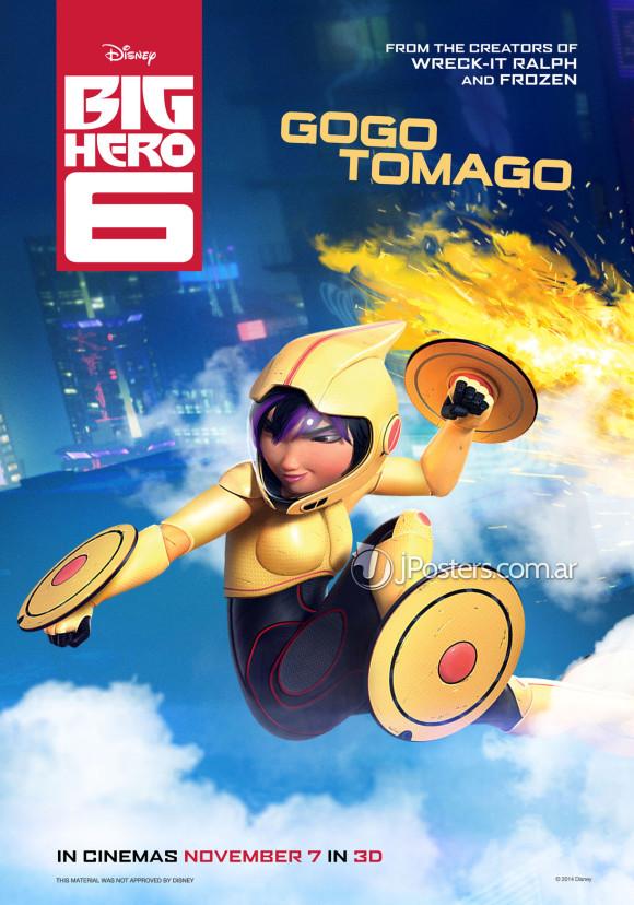 les-nouveaux-heros-disney-marvel-poster-gogo-tomago