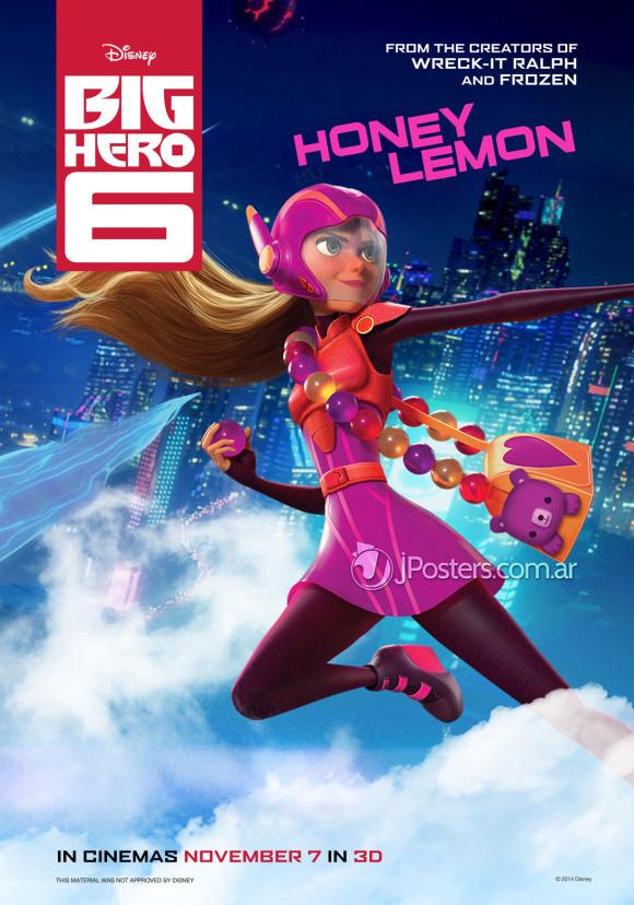 les-nouveaux-heros-disney-marvel-poster-honey-lemon