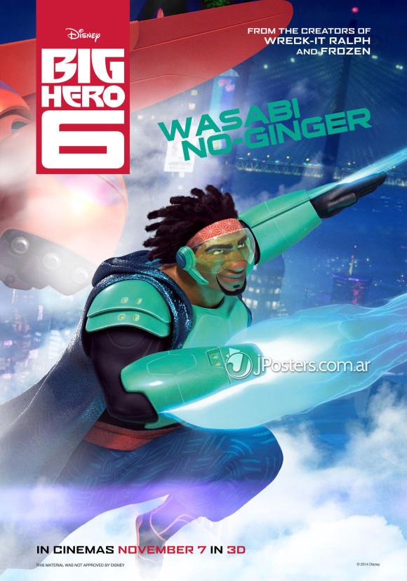 les-nouveaux-heros-disney-marvel-poster-wasabi-no-ginger