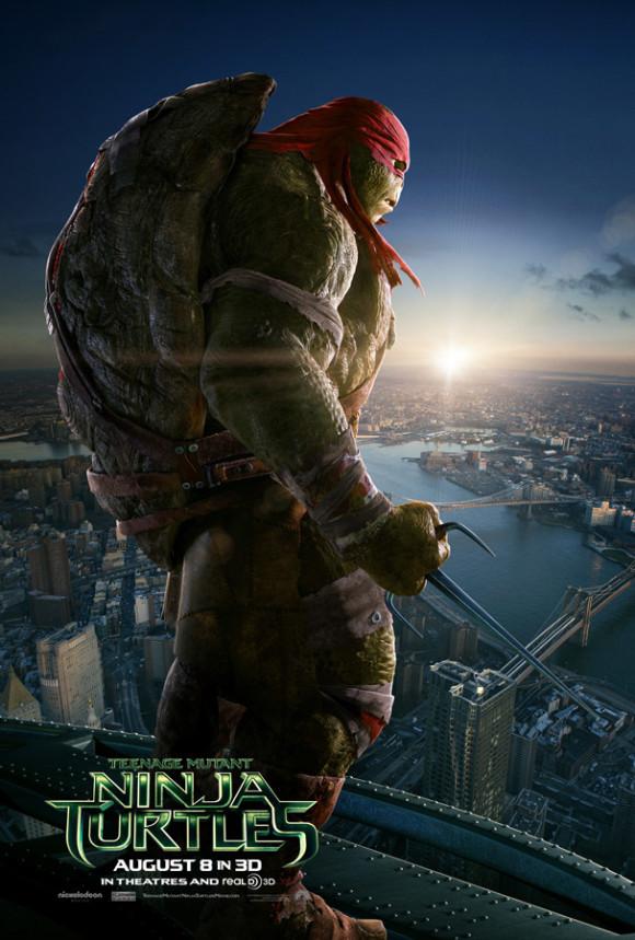 ninja-turtles-raphael-poster