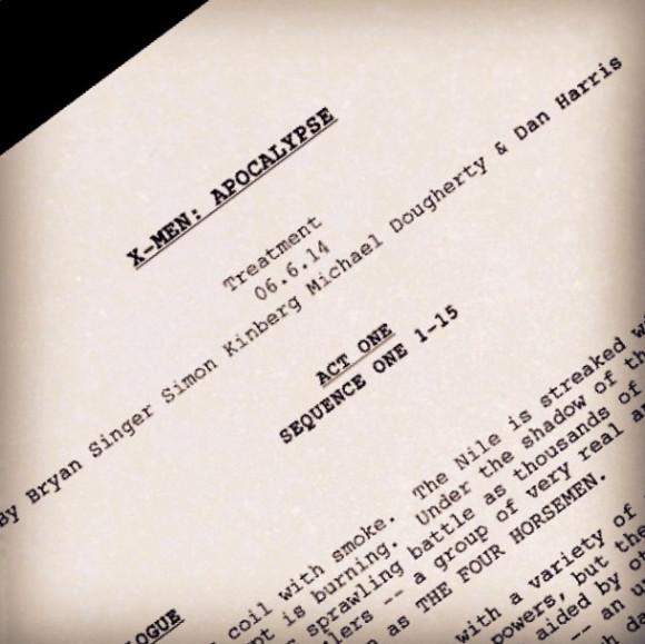 X-Men Apocalypse [20th Century/Marvel - 2016] X-men-apocalypse-script-580x579