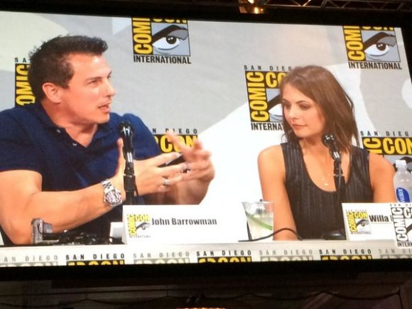 john-barrowman-arrow-panel-comiccon