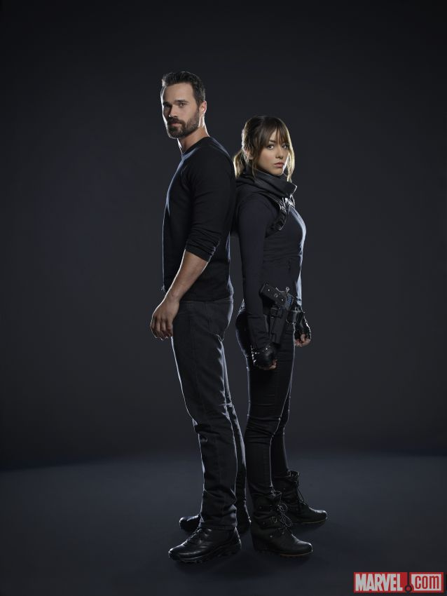 Agents of S.H.I.E.L.D. : 15 portraits... Coulson, May ...