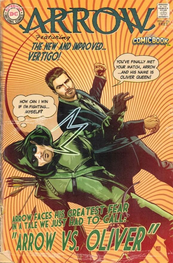 arrow-saison3-comic-book-poster-style