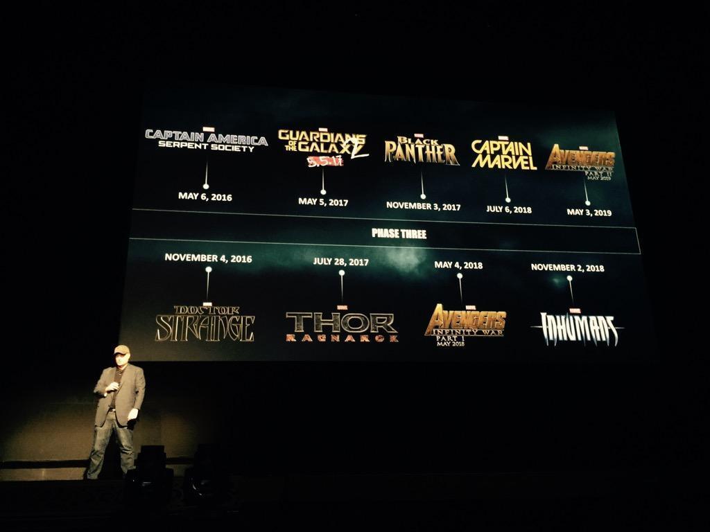 Marvel Calendrier.Calendrier Phase 3 Marvel Films Venir Les Toiles Heroiques