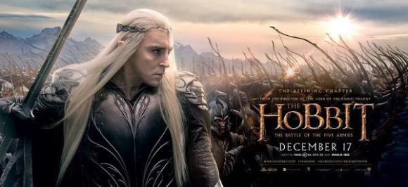 le-hobbit-la-bataille-des-cinq-armees-poster-thranduil-battle
