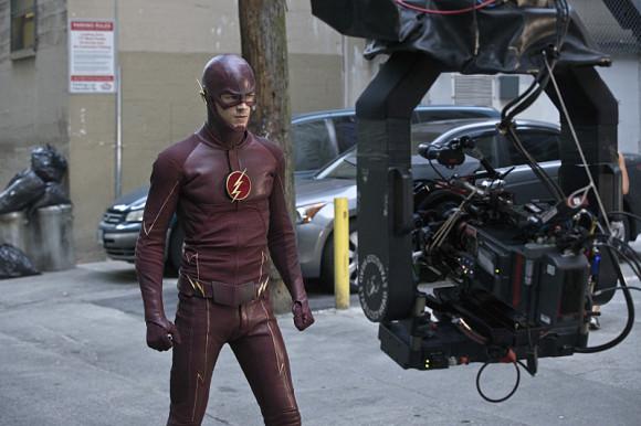 the-flash-episode-plastique-tournage