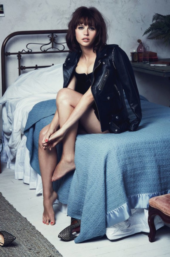 felicity-jones-gq-photoshoot-black