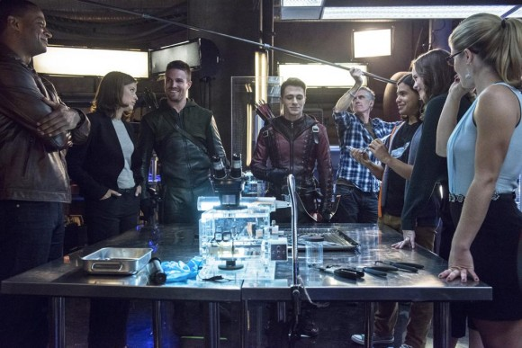 tournage-crossover-the-flash-arrow