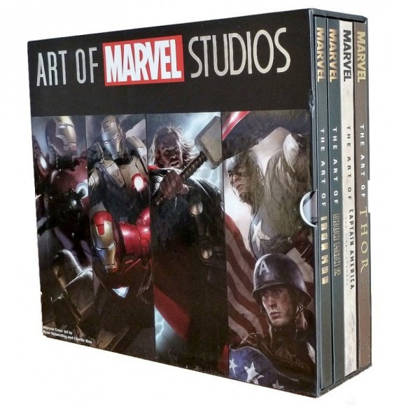 the-art-of-marvel-studios-livres