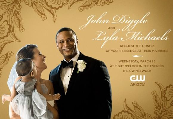 john-diggle-lyla-michaels-marriage-arrow-carton