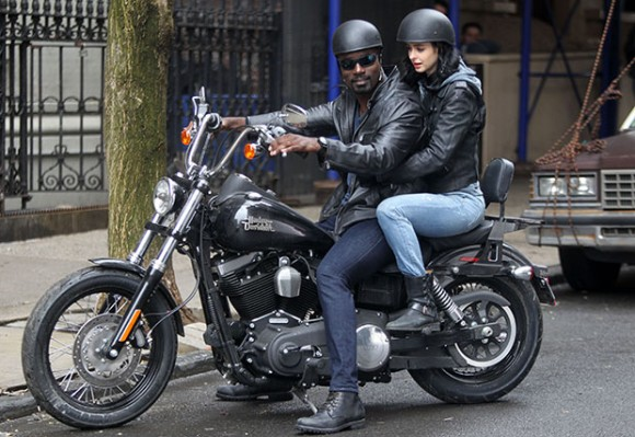 Celebrity Sightings In New York City - April 14, 2015