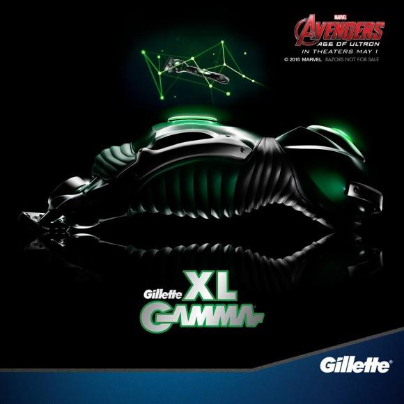 avengers-age-of-ultron-gillette-rasoir-hulk-gamma