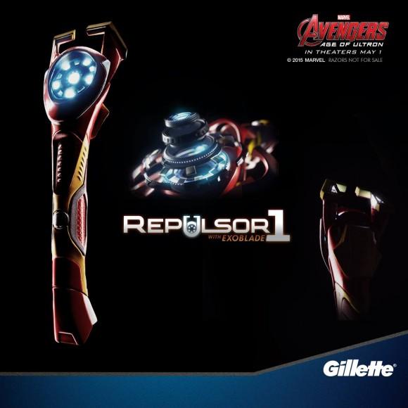 avengers-age-of-ultron-gillette-rasoir-stark-ironman