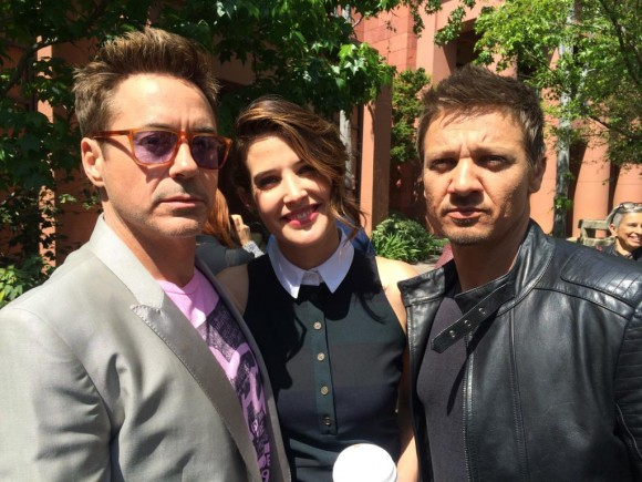 avengers-age-of-ultron-presstour-funny-downey-smulder-renner