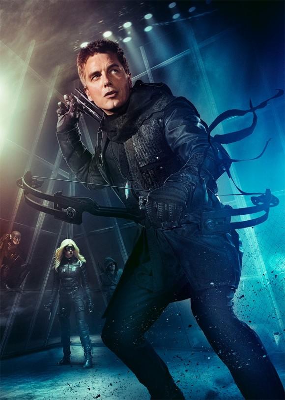 dark-archer-poster-arrow-season-3-affiche
