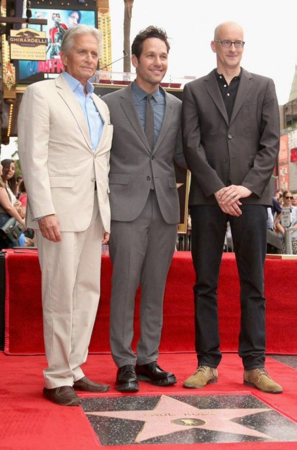 ant-man-paul-rudd-star-hollywood-walk-michael-douglas
