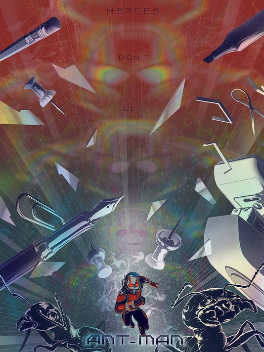 Franchise Marvel/Disney #3 Ant-man-poster-mondo