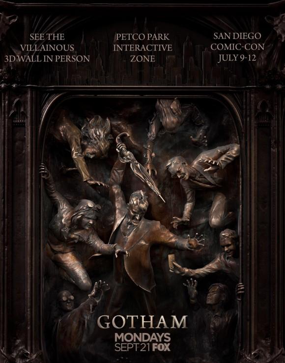 gotham-season-2-vilains-freeze-comic-con-wall