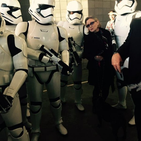 star-wars-the-force-awakens-panel-comic-con-carrie-fisher-storm