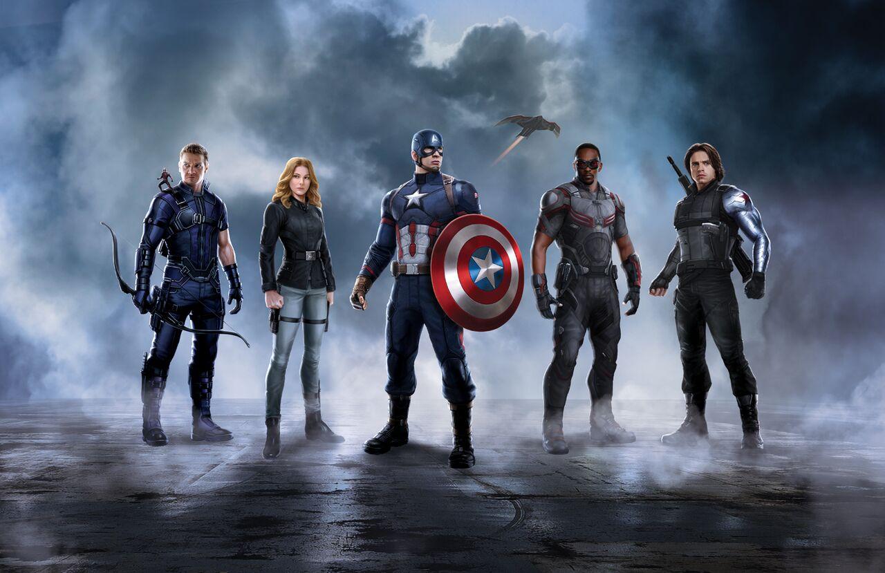 captain marvel equipe