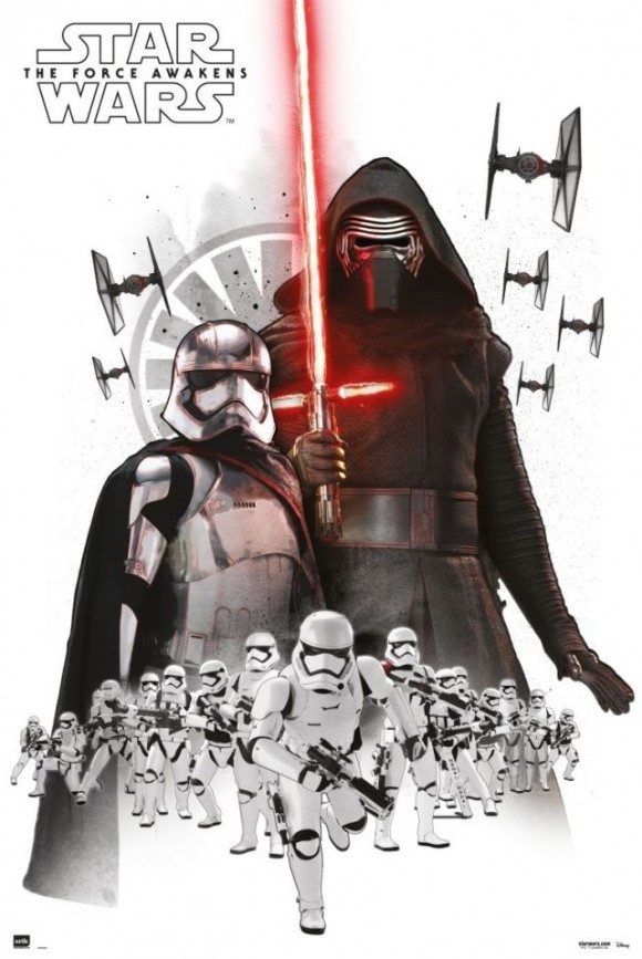 maxi-poster-star-wars-empire-white