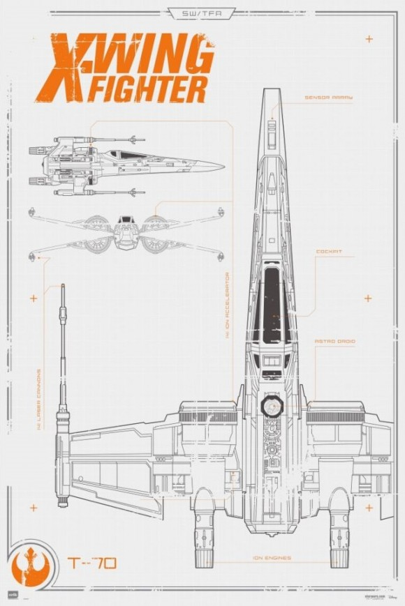maxi-poster-star-wars-x-wing