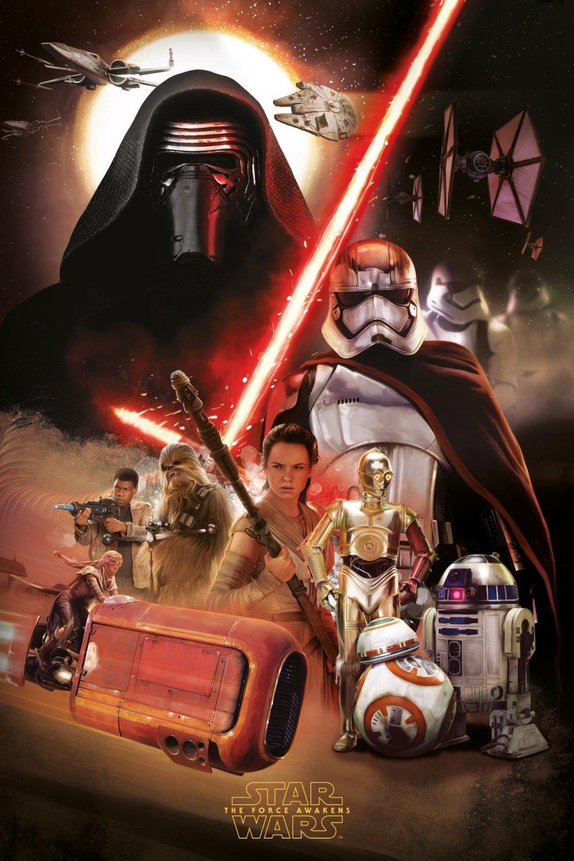 [Lucasfilm] Star Wars : Le Réveil de la Force (2015) - Page 3 Star-wars-poster-art-force-awakens