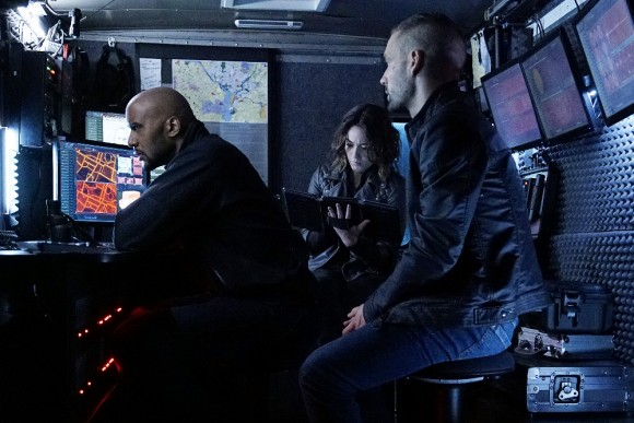 HENRY SIMMONS, CHLOE BENNET, NICK BLOOD